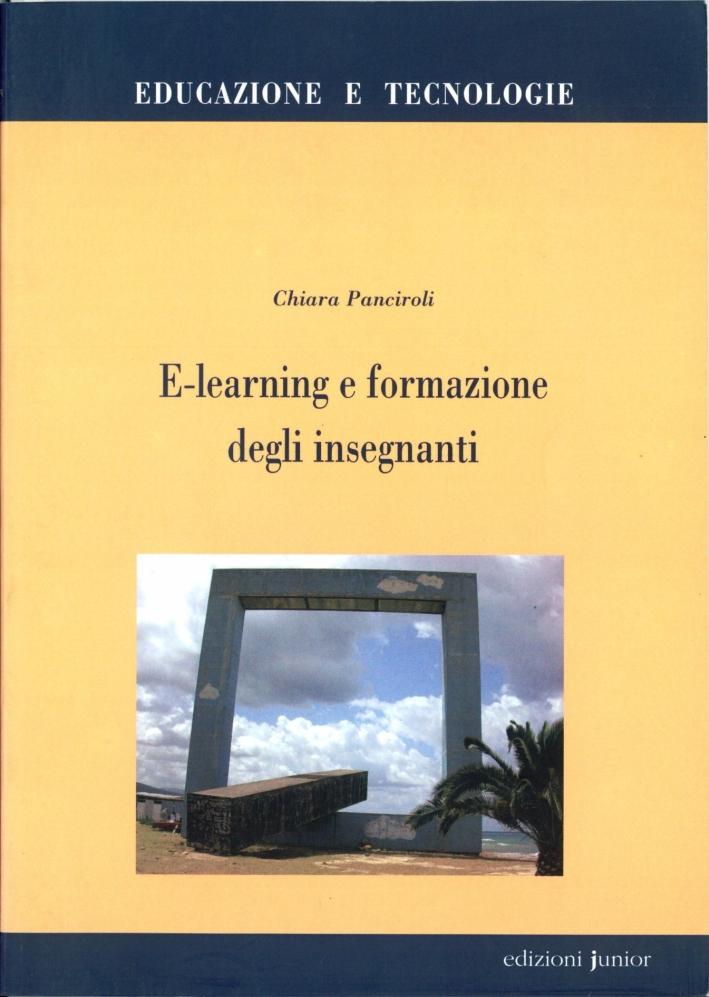E-learning e formazione degli insegnanti.