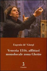 Venezia 1516, affittasi monolocale zona ghetto. Con DVD.