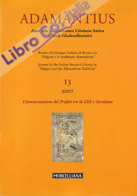 Adamantius. Notiziario del Gruppo italiano di ricerca su