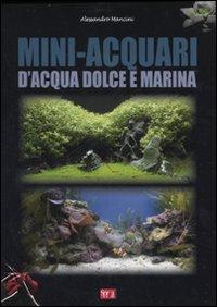 Mini-acquari d'acqua dolce e marina