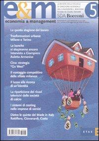 Economia & management. Vol. 5.