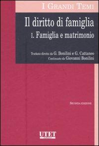 Il diritto di famiglia. Vol. 1: Famiglia e matrimonio