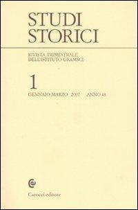 Studi storici (2007). Vol. 1