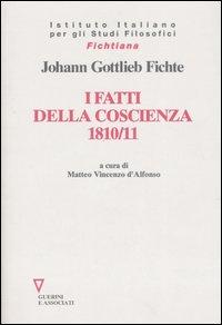 I fatti della coscienza 1810-1811