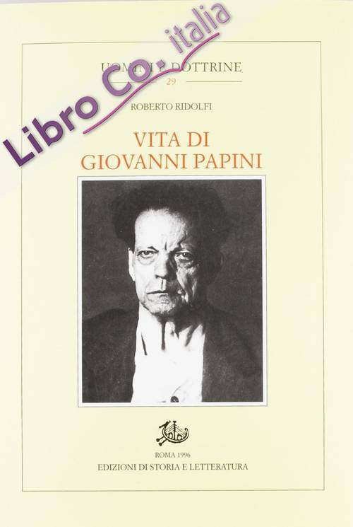Vita di Giovanni Papini