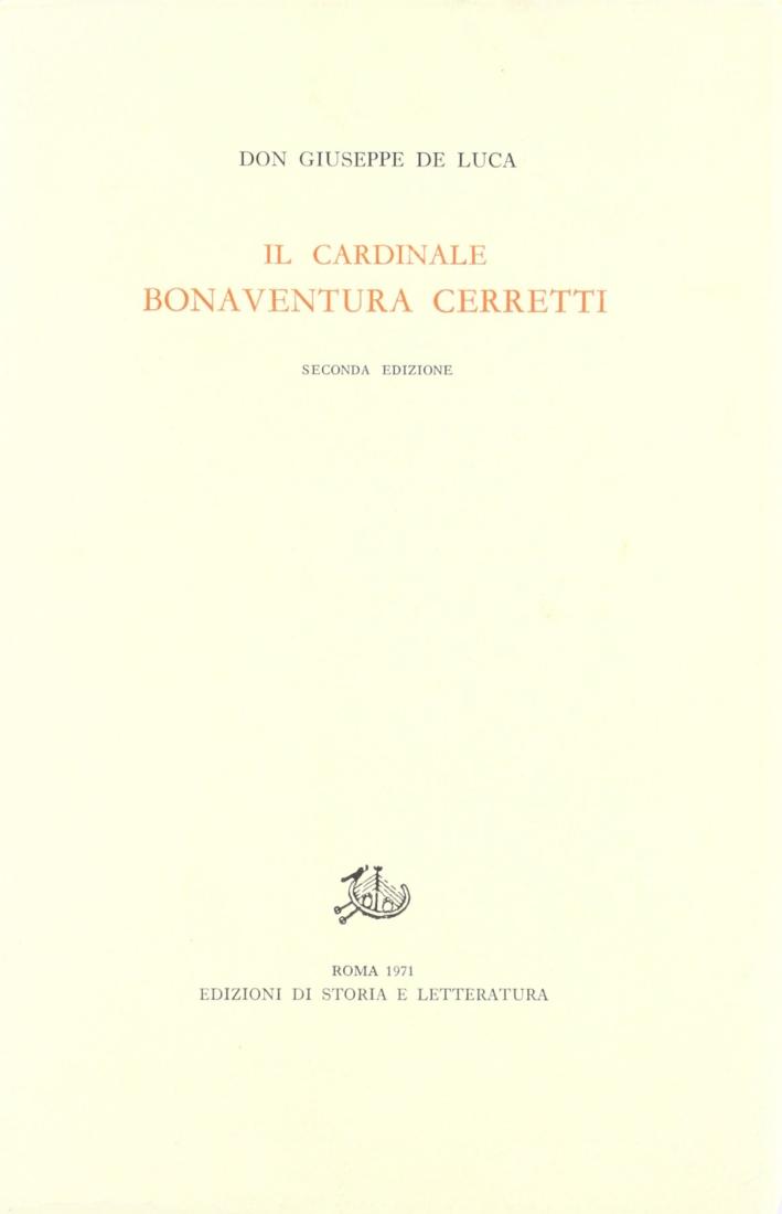 Il cardinale Bonaventura Cerretti