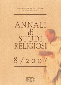 Annali di studi religiosi (2007). Vol. 8