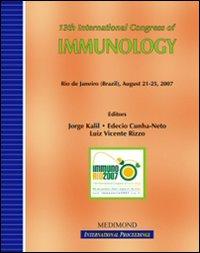 Thirteenth International congress of immunology, ICI (Rio de Janeiro, 21-25 August 2007)