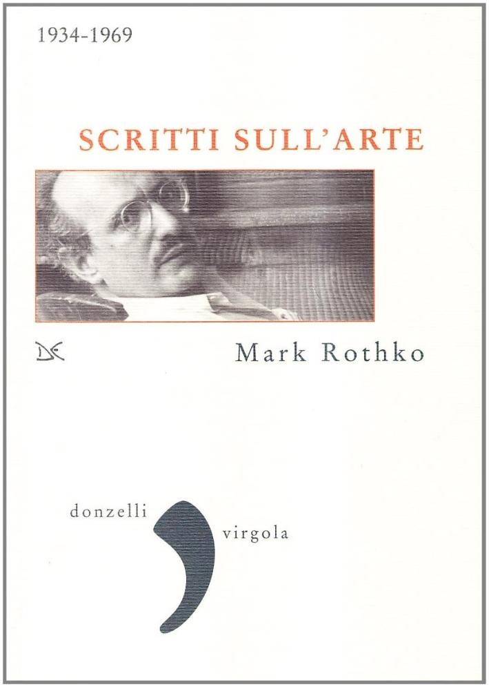 Scritti sull'arte 1934-1969.