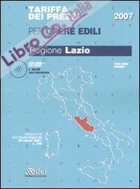 Tariffa dei prezzi per opere edili. Regione Lazio. Con CD-ROM. Vol. 1