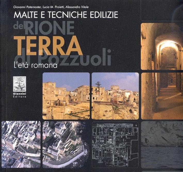 Malte e tecniche edilizie del Rione Terra di Pozzuoli. L'età romana.