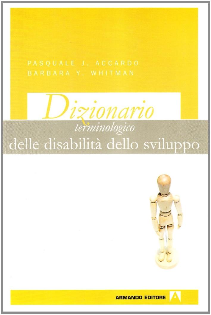 Dizionario terminologico delle disabilità dello sviluppo