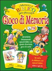 Memory biblico per piccoli. Giochi di memoria. Scatola gioco.
