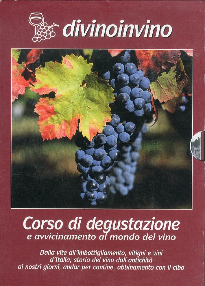 Corso di degustazione e avvicinamento al mondo del vino. 4 DVD.