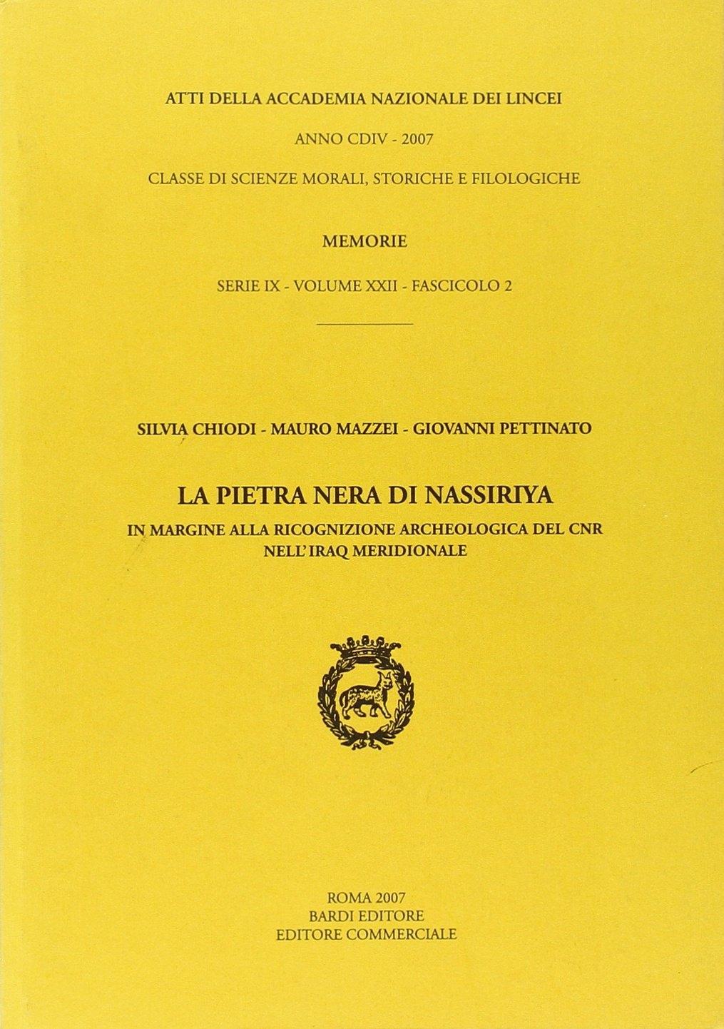 La Pietra Nera di Nassiriya.