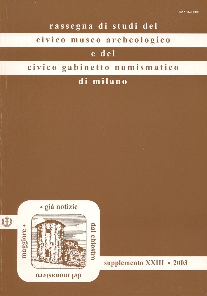 Ianua Leti. L'architettura funeraria di Milano romana