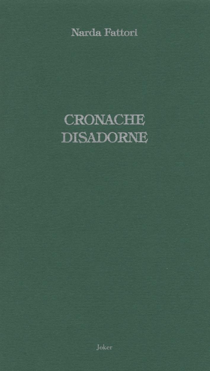 Cronache disadorne