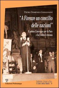 A Firenze un concilio delle nazioni