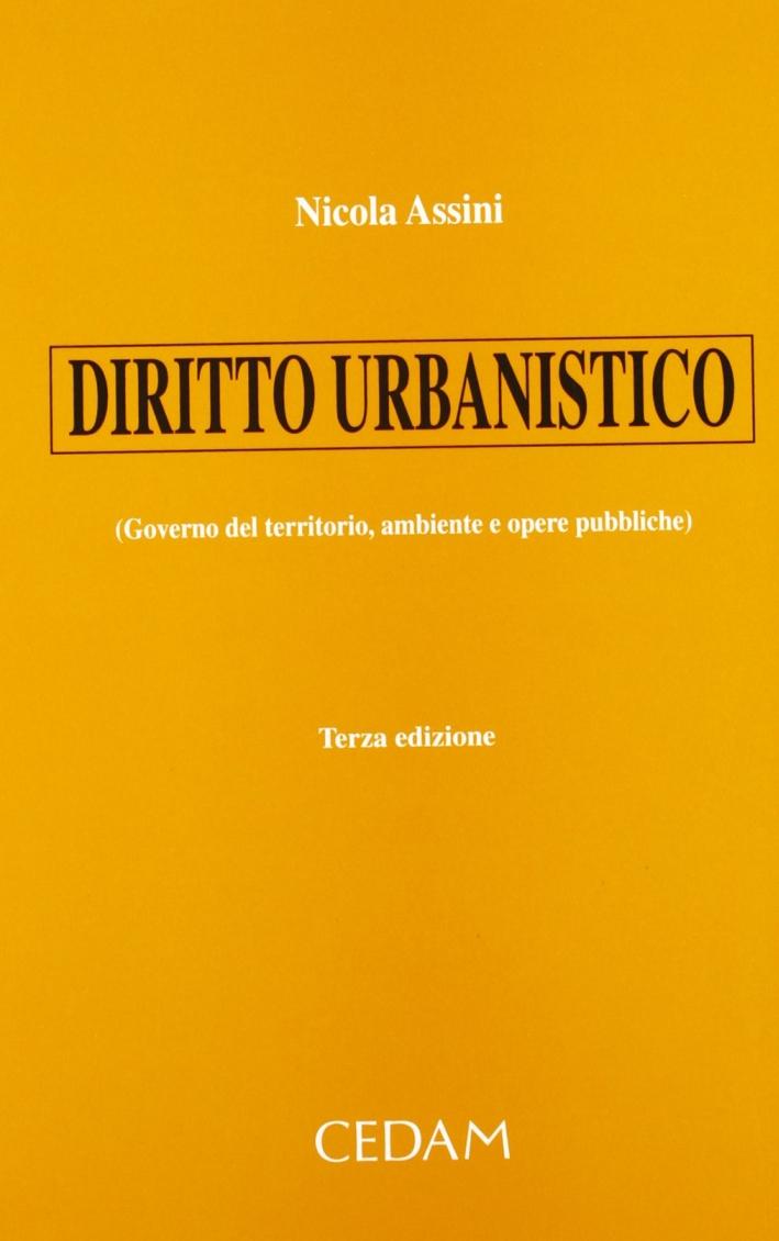 Diritto urbanistico (governo del territorio, ambiente e opere pubbliche)