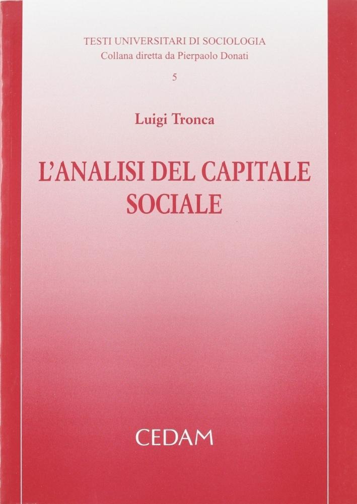 L'analisi del capitale sociale
