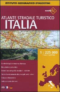 Atlante stradale turistico Italia 1:225.000