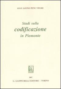 Studi sulla codificazione in Piemonte