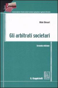 Gli arbitrati societari