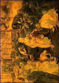 Cartolina. Firenze - Galleria degli Uffizi. Adorazione dei Magi (1481)