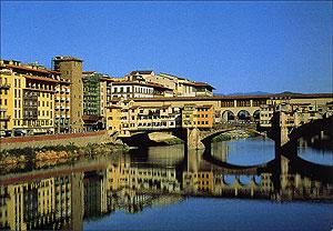 Cartolina. Firenze - Il Ponte Vecchio