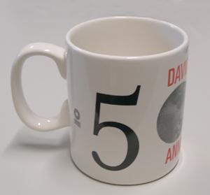 Tazza/mug con logo 500 DEL DAVID dedicata al Cinquecentenario del David