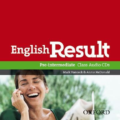 English Result Pre-intermediate: Class Audio CDs.