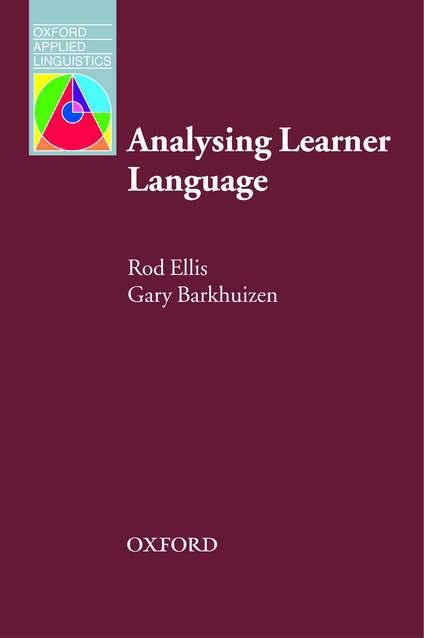 Analysing Learner Language.