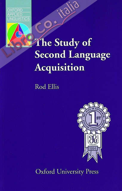 The Study of Second Language Acquisition.