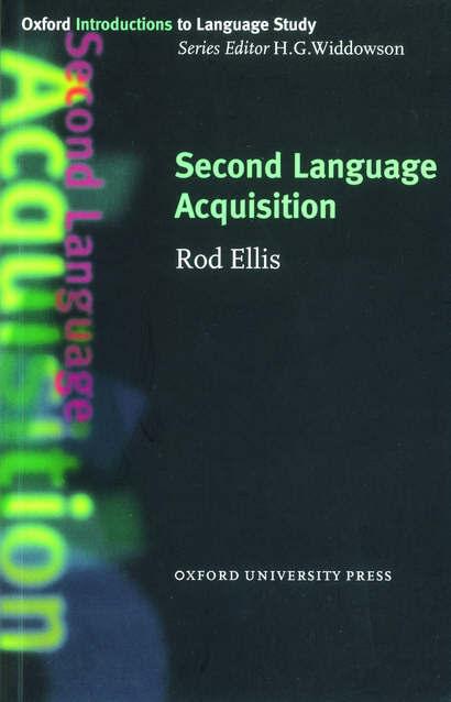 Second Language Acquisition.