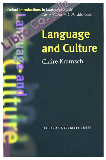 Language and Culture.