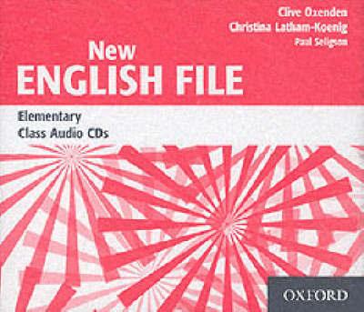 New English File (Elementary level).