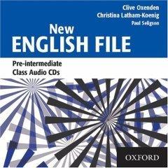 New English File (Pre-intermediate level).