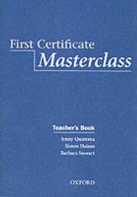 First Certificate Masterclass.