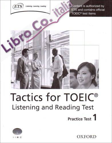 Tactics for TOEIC.