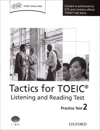 Tactics for TOEIC