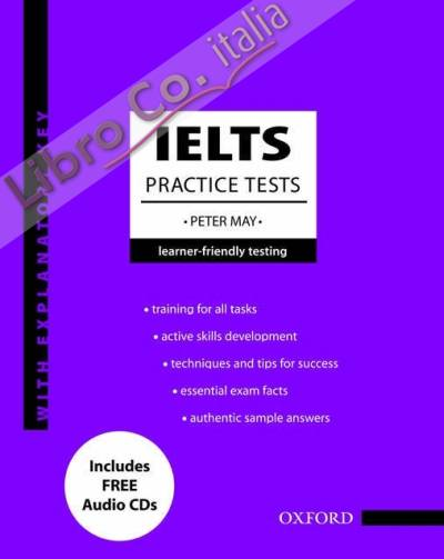 IELTS Practice Tests with Explanatory Key and Audio CDs (2) Pack.