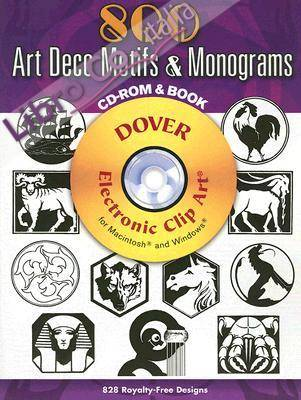 500 Art Deco Motifs and Monograms