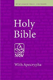 NRSV Standard Text Edition with Apocrypha Hardback NR10A