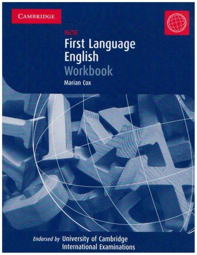 First Language English