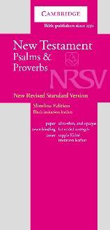 NRSV New Testament and Psalms Black Imitation Leather NRNT1