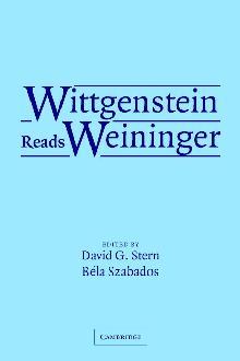 Wittgenstein Reads Weininger