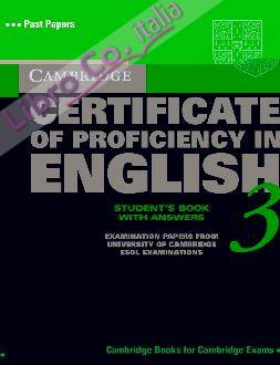 Cambridge Certificate of Proficiency in English 3 Student's Book with Answers