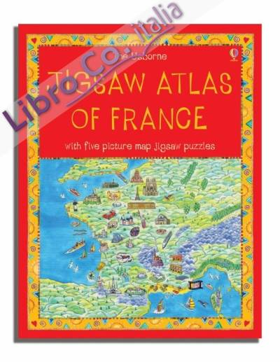 Jigsaw Atlas of France