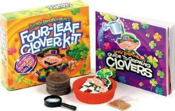 Lucky Leprechaun's Four Leaf Clover Kit