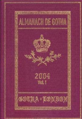 Almanach De Gotha (v. 1, Pt. 1, v. 1, Pt. 2)